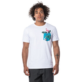 Rip Curl In Da Pocket Camiseta Manga Corta Hombre, optical white